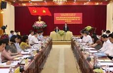 Phó Chủ tịch Quốc hội kiểm tra công tác chuẩn bị bầu cử tại Yên Bái