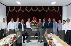 Đại sứ Việt Nam chúc mừng Hội Nhà báo Lào nhân ngày kỷ niệm