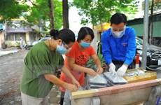Hỗ trợ công nhân xây dựng mắc kẹt ở Hà Nội do giãn cách xã hội