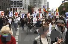 Đức: Hàng nghìn người tuần hành ở Berlin ủng hộ công bằng xã hội