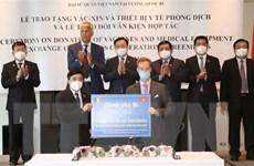 Bỉ trao tặng 100.000 liều vaccine AstraZeneca cho Việt Nam