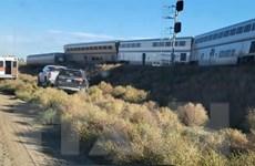Tàu hỏa trật bánh tại Mỹ khiến ít nhất ba người thiệt mạng