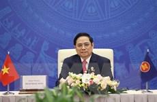 Thủ tướng tiếp xã giao các Đại sứ, Đại biện các nước tham gia EAS