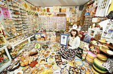 """Cô gái Nhật Bản với bộ sưu tập """"Mô hình đồ ăn nhựa"""" lớn nhất thế giới"""