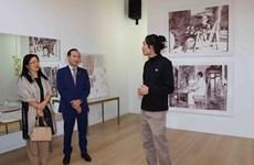 Họa sỹ Bỉ gốc Việt tìm về nguồn cội qua những bức tranh