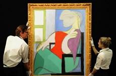 """Tranh vẽ """"Nàng thơ"""" của Picasso được bán với giá 103 triệu USD"""