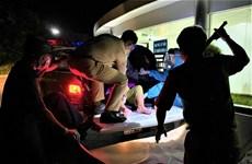 Tổ Cảnh sát phòng, chống dịch chở cụ bà 86 tuổi đi cấp cứu kịp thời