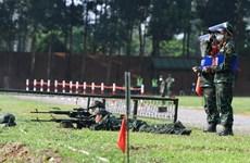 Army Games 2021: Các xạ thủ Việt Nam thi ''Bắn tỉa bài 7''