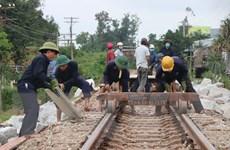 Quảng Ngãi: Khẩn trương khắc phục công trình bị hư hỏng do mưa lũ