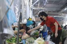 Hà Nội: Chợ dân sinh Phùng Khoang mở cửa hoạt động trở lại