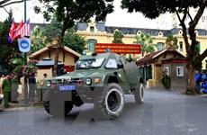 [Photo] Công an Hà Nội ra quân bảo vệ an ninh cho thượng đỉnh Mỹ-Triều