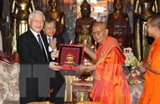 Tổng Bí thư, Chủ tịch nước thăm Đại tăng thống Tep Vong