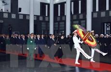 Hình ảnh lễ viếng nguyên Chủ tịch nước, Đại tướng Lê Đức Anh