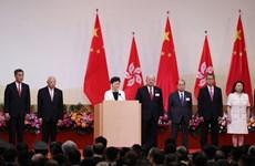 Hong Kong tổ chức lễ thượng cờ nhân kỷ niệm 22 năm thành lập Đặc khu