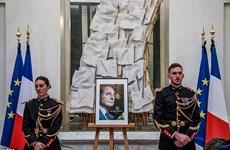 Nước Pháp treo cờ rủ tưởng nhớ cựu Tổng thống Jacques Chirac