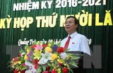 Phó Bí thư Tỉnh ủy Quảng Trị được bầu làm Chủ tịch UBND tỉnh