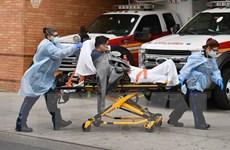 Số ca tử vong do COVID-19 ở Mỹ cao hơn số người chết trong Thế chiến 1