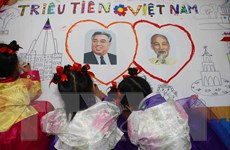 Trường mẫu giáo Việt-Triều: Biểu tượng của tình hữu nghị hai nước