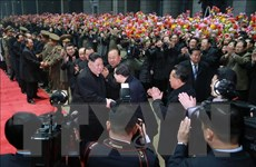 KCNA: Nhà lãnh đạo Triều Tiên Kim Jong-un đã trở về Bình Nhưỡng