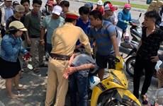 Cảnh sát giao thông Đà Nẵng truy đuổi, bắt gọn hai tên cướp giật