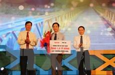 Vang mãi Khát vọng thống nhất bên bờ Hiền Lương-Bến Hải