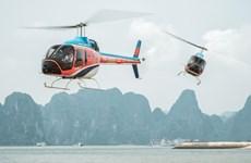 Trải nghiệm tuyệt vời khi ngắm cảnh vịnh Hạ Long từ trực thăng