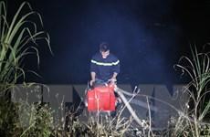 Cận cảnh vụ cháy rừng đặc dụng trong Quần thể danh thắng Tràng An