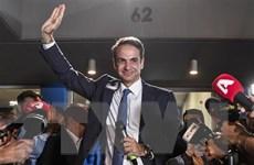 Hy Lạp: Thủ tướng đắc cử Kyriakos Mitsotakis cam kết thay đổi