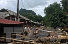 Thanh Hóa tập trung cứu trợ các bản bị cô lập sau bão số 3