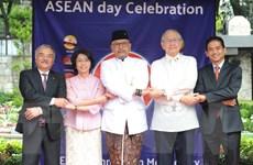Hình ảnh lễ Kỷ niệm 52 năm Ngày thành lập ASEAN tại Mexico