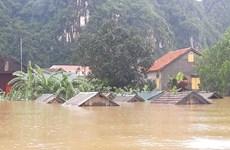 Nhiều khu vực ở Quảng Bình, Quảng Trị, Hà Tĩnh chìm trong nước