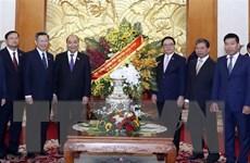 Thủ tướng Nguyễn Xuân Phúc chúc mừng Ban Đối ngoại TW Đảng