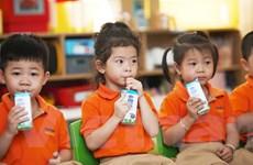 TP.HCM chính thức triển khai thí điểm chương trình sữa học đường