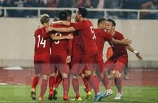 Bóng đá Việt Nam tiếp tục thăng 3 bậc trên bảng xếp hạng FIFA