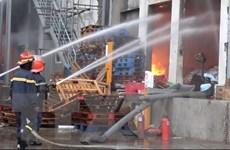 Bình Dương: Cháy kho hàng trong Khu công nghiệp Sóng Thần 1
