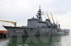 Hai tàu của Lực lượng Tự vệ trên biển Nhật Bản thăm hữu nghị Đà Nẵng