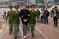 Hình ảnh xét xử vụ án sát hại nữ sinh giao gà tại Điện Biên