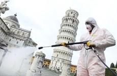 Cảnh vắng lặng tại Italy khi dịch bệnh COVID-19 bùng phát