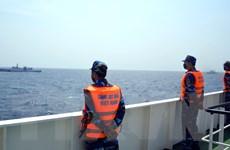 Hình ảnh kiểm tra liên hợp nghề cá Việt Nam-Trung Quốc lần thứ nhất
