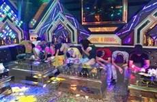 Quảng Bình: Bắt quả tang 20 đối tượng sử dụng ma túy tại phòng karaoke