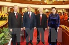 Hình ảnh khai mạc Hội nghị lần thứ 14 Ban Chấp hành TW Đảng khóa XII
