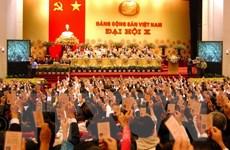 Đại hội Đảng X: Sớm đưa đất nước ra khỏi tình trạng kém phát triển