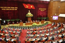 Quang cảnh Hội nghị lần thứ hai BCH Trung ương Đảng khóa XIII