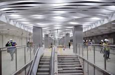 Hoàn thành sớm tầng B1 nhà ga ngầm Ba Son tuyến Bến Thành-Suối Tiên