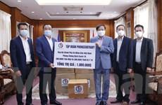Một tập đoàn của Lào ủng hộ quỹ phòng chống dịch Việt Nam 1 triệu USD
