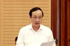 Thi hành kỷ luật nguyên Phó Chủ tịch UBND thành phố Hà Nội