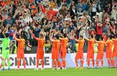 Cận cảnh Trung Quốc vào vòng 1/8 sau trận thắng Philippines