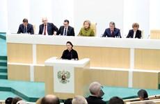 Chủ tịch Quốc hội phát biểu tại Phiên họp toàn thể Hội đồng Liên bang
