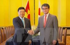 Việt Nam và Nhật Bản nhất trí tăng cường kết nối giữa hai nền kinh tế