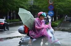 Cơn bão nhiệt đới MUN đổ bộ vào tỉnh Hải Nam của Trung Quốc